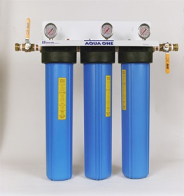 Whole House Triple water Filtration System